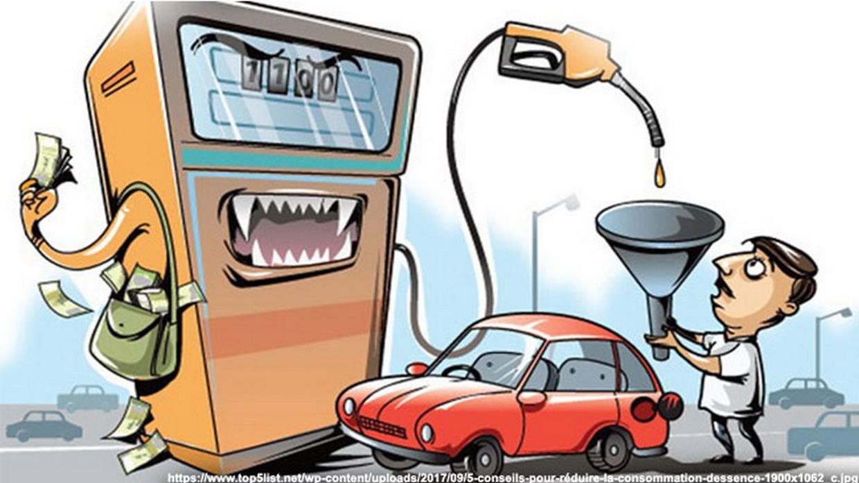 Веселые картинки про бензин