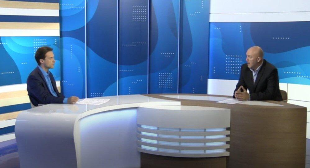 В студии телеканала Губерния33